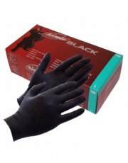 Black Ninja LatexBlack Ninja Gants jetables en latex